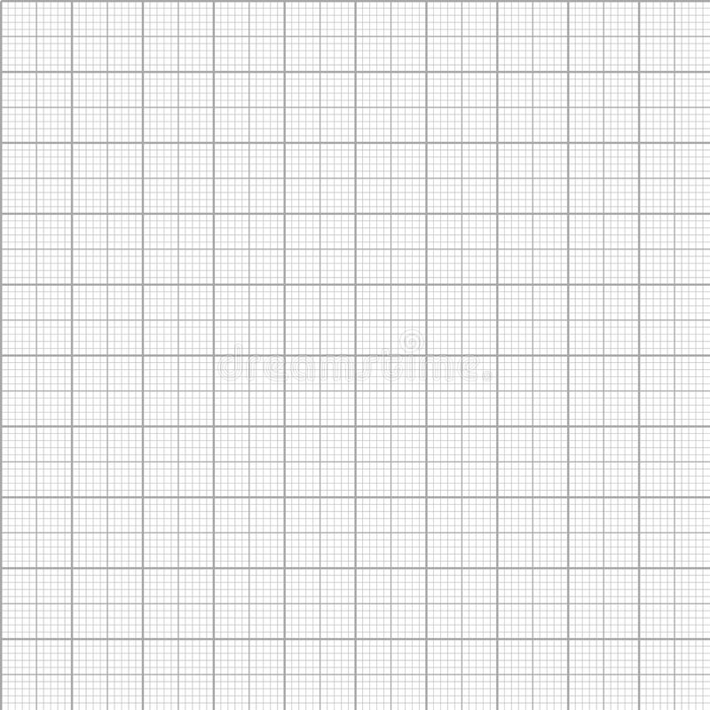 Διανυσματικό άνευ ραφής σχέδιο εγγράφου χιλιοστόμετρου γραφικών παραστάσεων ελεύθερη απεικόνιση δικαιώματος