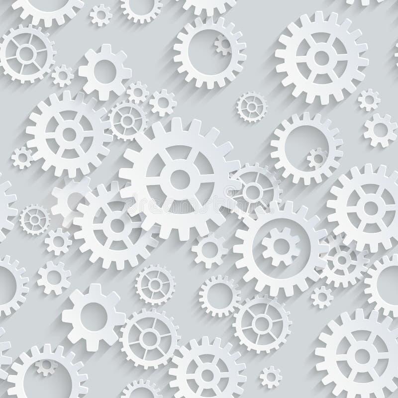 Διανυσματικό άνευ ραφής σχέδιο εργαλείων διανυσματική απεικόνιση