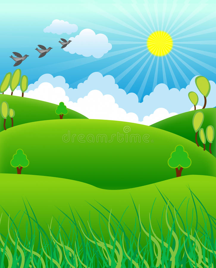 Διανυσματικό αγρόκτημα απεικόνιση αποθεμάτων
