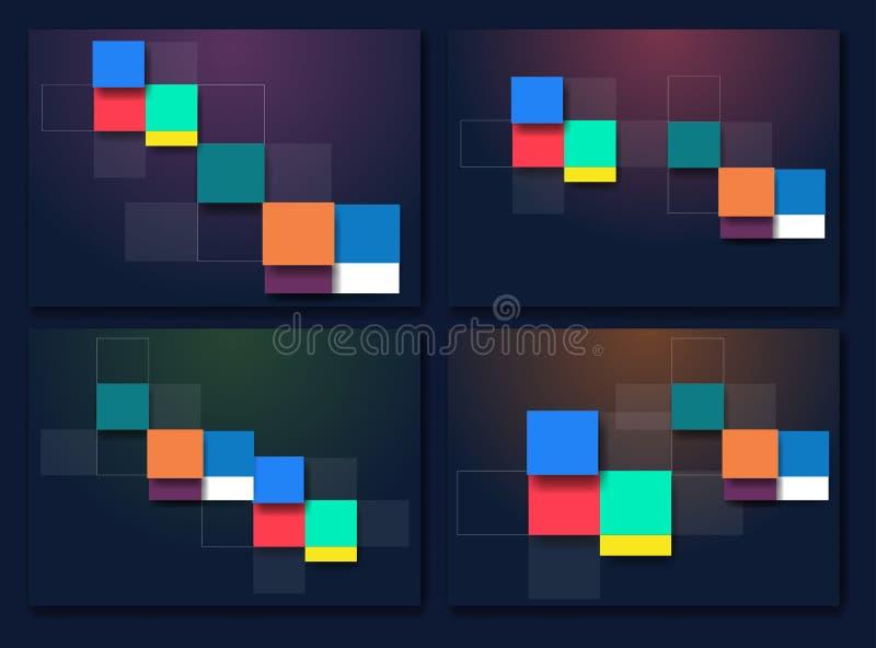 Διανυσματικό ασυνήθιστο σύγχρονο υλικό σχέδιο υποβάθρου διανυσματική απεικόνιση