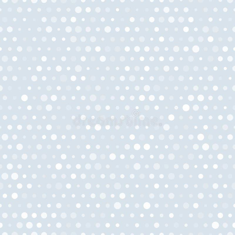 Διανυσματικό αφηρημένο αναδρομικό άνευ ραφής σχέδιο με τους κύκλους διανυσματική απεικόνιση