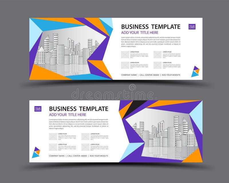 Διανυσματικό, αφηρημένο υπόβαθρο προτύπων εμβλημάτων, πρότυπο εμβλημάτων Ιστού, σχέδιο πινάκων διαφημίσεων, σελίδα επιγραφών, επι διανυσματική απεικόνιση