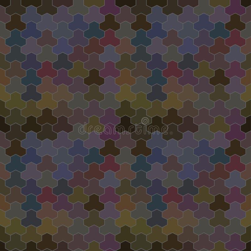 Διανυσματικό γεωμετρικό σχέδιο με τις γεωμετρικές μορφές διανυσματική απεικόνιση