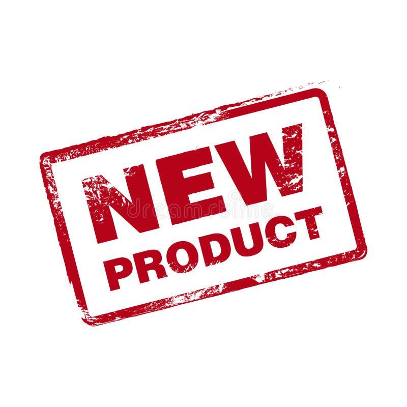 Διανυσματικό γραμματόσημο νέων προϊόντων ελεύθερη απεικόνιση δικαιώματος