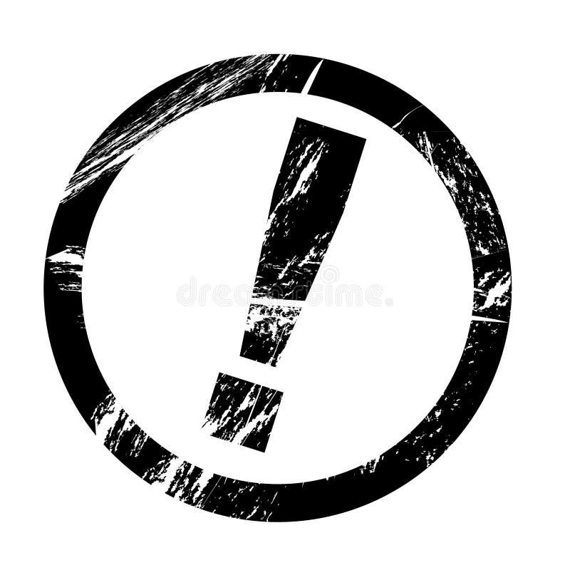 Διανυσματικό γραμματόσημο Grunge ελεύθερη απεικόνιση δικαιώματος