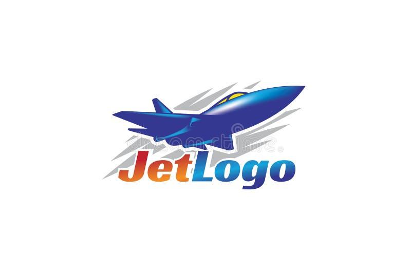 Διανυσματικό γραφικό λογότυπου Jet απεικόνιση αποθεμάτων