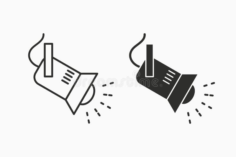 Διανυσματικό εικονίδιο επικέντρων για το γραφικό και σχέδιο Ιστού ελεύθερη απεικόνιση δικαιώματος
