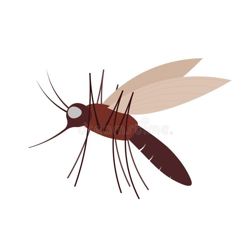 Διανυσματικό εικονίδιο κουνουπιών απεικόνιση αποθεμάτων