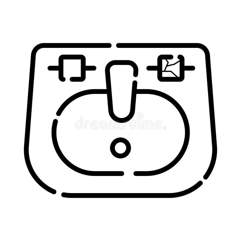 Διανυσματικό εικονίδιο νεροχυτών απεικόνιση αποθεμάτων