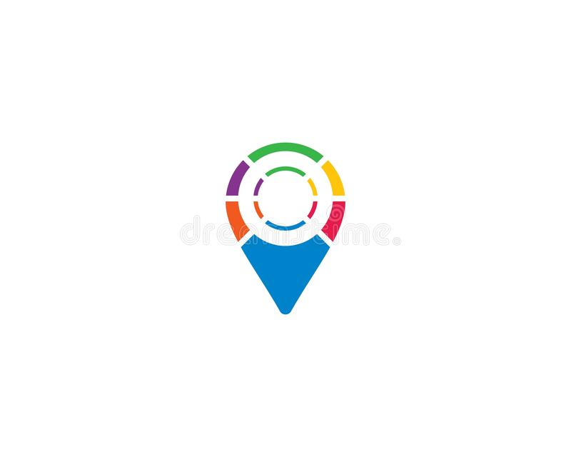Διανυσματικό εικονίδιο προτύπων λογότυπων δεικτών απεικόνιση αποθεμάτων