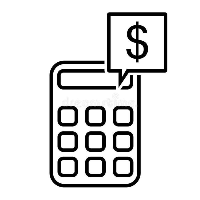 Διανυσματικό εικονίδιο υπολογιστών E Υπολογίστε την απεικόνιση συμβόλων χρηματοδότησης o Τυχαία διαγώνια στοιχεία Γραμμικό ασβέστ διανυσματική απεικόνιση