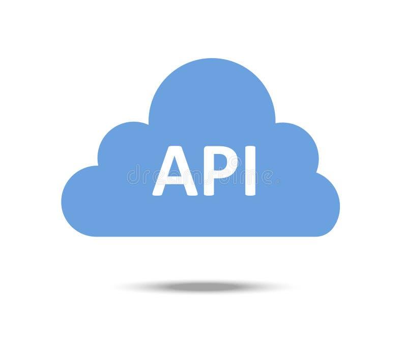 Διανυσματικό εικονίδιο API διανυσματική απεικόνιση