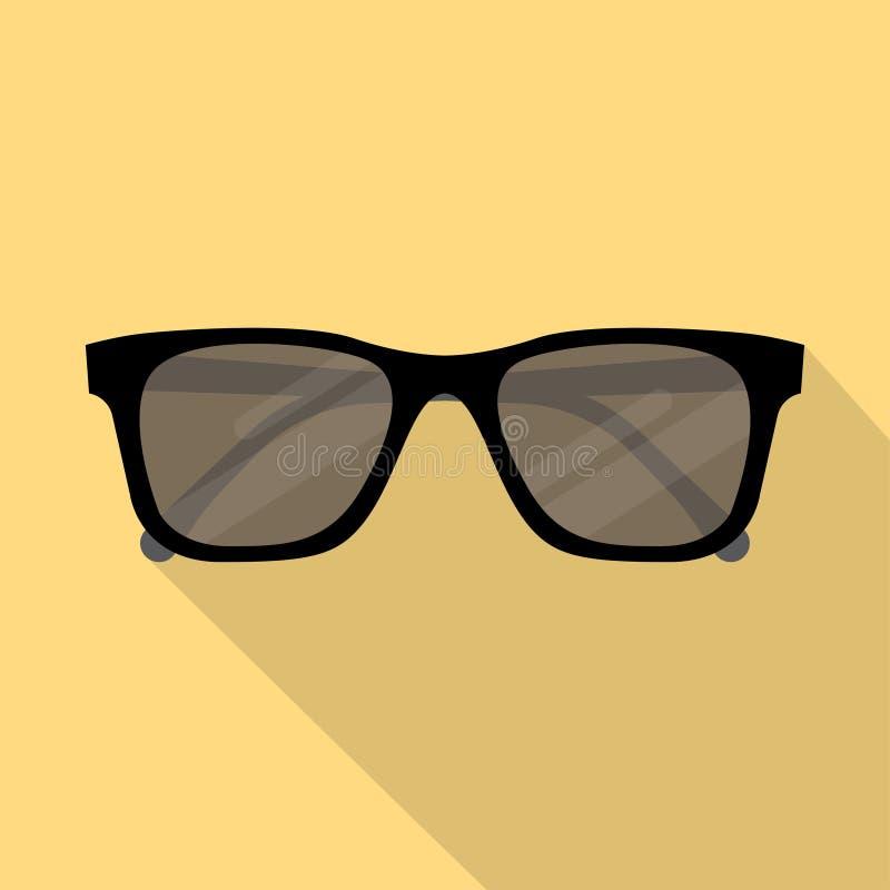 Διανυσματικό εικονίδιο γυαλιών ηλίου διανυσματική απεικόνιση