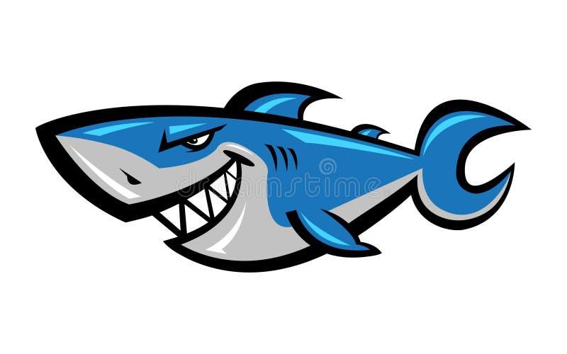 Διανυσματικό εικονίδιο καρχαριών ελεύθερη απεικόνιση δικαιώματος