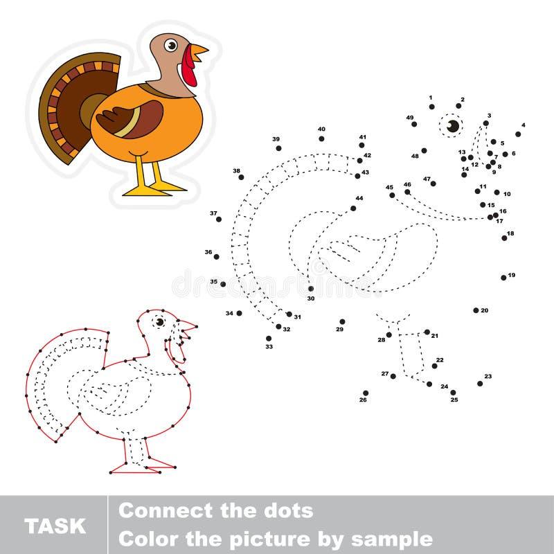 Διανυσματικό εκπαιδευτικό παιχνίδι ιχνών για τα προσχολικά παιδιά ελεύθερη απεικόνιση δικαιώματος