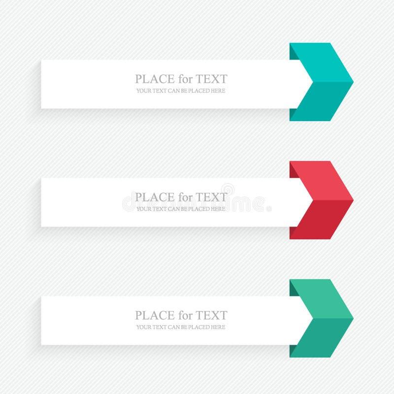 Διανυσματικό ζωηρόχρωμο παράθυρο κειμένου διανυσματική απεικόνιση