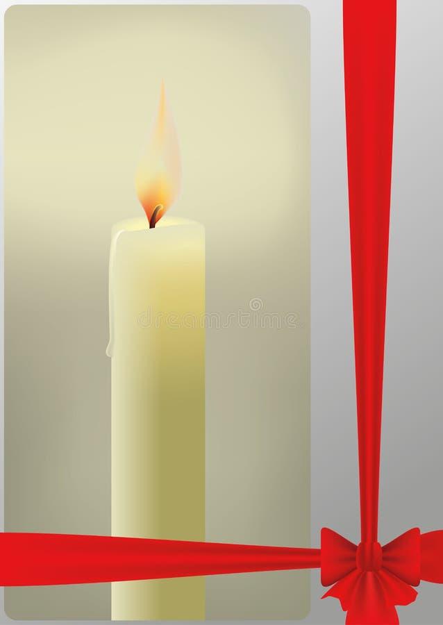 Διανυσματικό κερί απεικόνιση αποθεμάτων