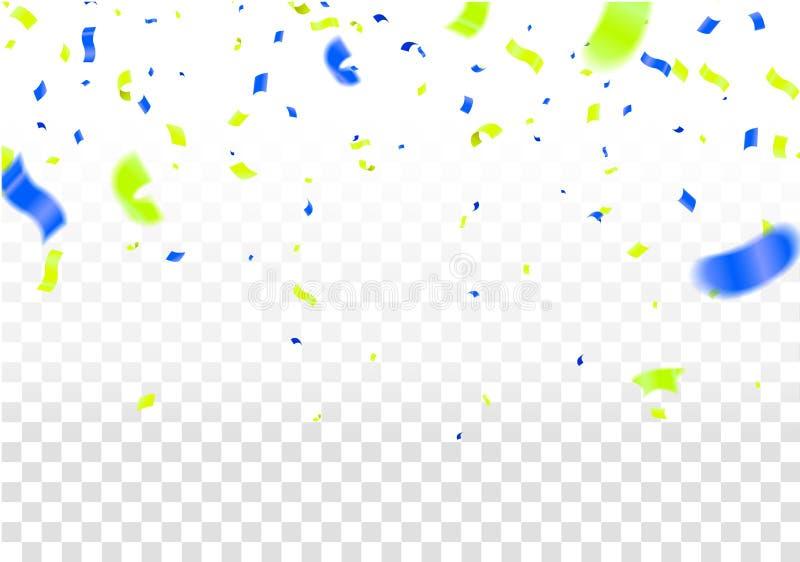 Διανυσματικό κόμμα απεικόνισης αποθεμάτων που πετά τα πορφυρά και διάφορα ρεαλιστικά μπαλόνια χρωμάτων Μακρο επίδραση Defocused Π διανυσματική απεικόνιση