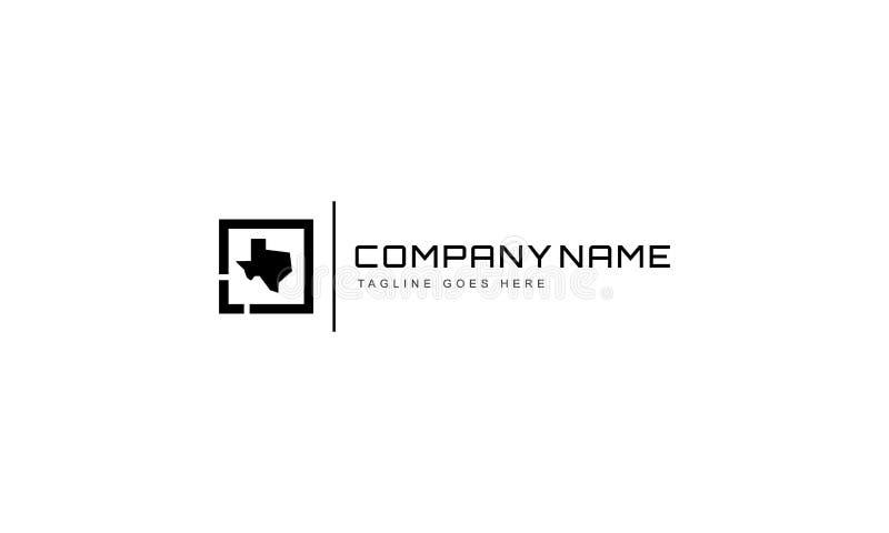 Διανυσματικό λογότυπο του Τέξας διανυσματική απεικόνιση