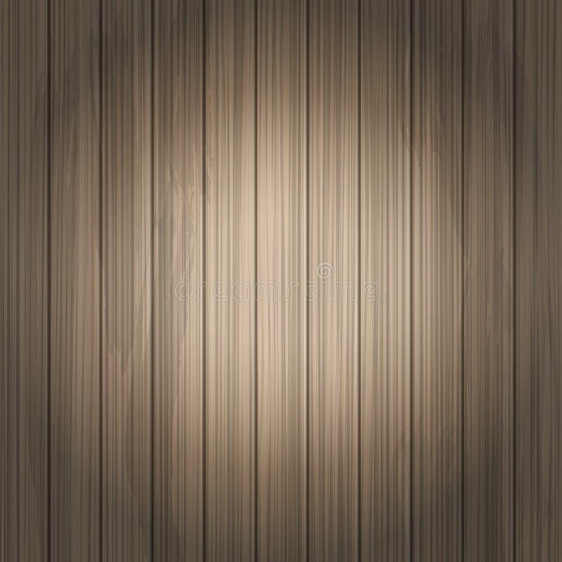Διανυσματικό ξύλινο υπόβαθρο ελεύθερη απεικόνιση δικαιώματος