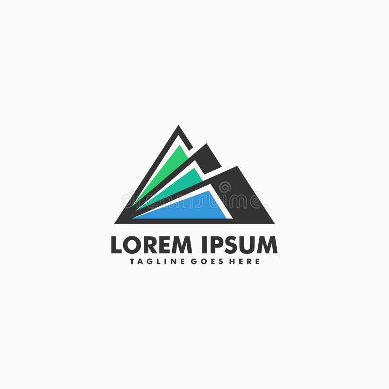 Διανυσματικό πρότυπο απεικόνισης έννοιας βουνών ελεύθερη απεικόνιση δικαιώματος