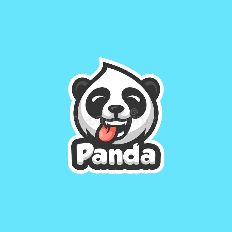 Διανυσματικό πρότυπο απεικόνισης έννοιας της Panda στοκ φωτογραφία