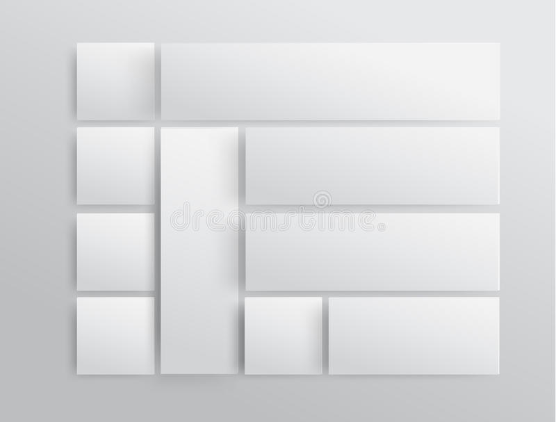 Διανυσματικό πρότυπο σύγχρονου σχεδίου απεικόνιση αποθεμάτων