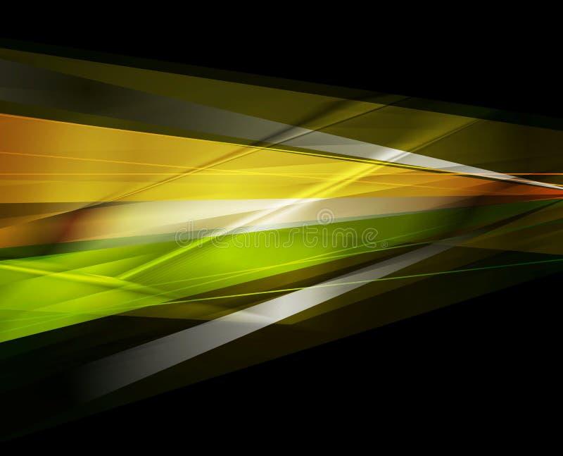 Διανυσματικό σκοτεινό υπόβαθρο λωρίδων έννοιας ζωηρόχρωμο διανυσματική απεικόνιση