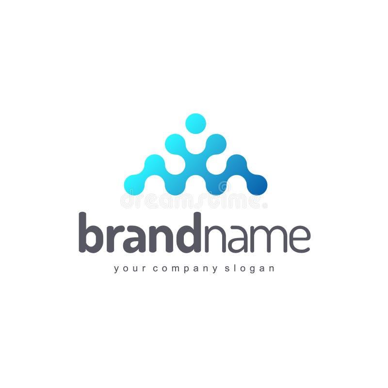Διανυσματικό σχέδιο λογότυπων για την επιχείρηση δρύινο διάνυσμα προτύπων κορδελλών φύλλων δαφνών συνόρων διανυσματική απεικόνιση