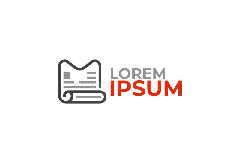 Διανυσματικό σχέδιο λογότυπων απεικόνιση αποθεμάτων