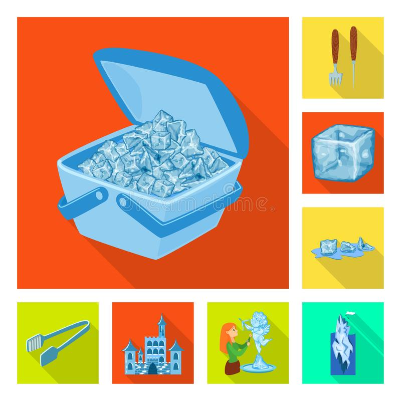 Διανυσματικό σχέδιο της σύστασης και του παγωμένου συμβόλου E ελεύθερη απεικόνιση δικαιώματος