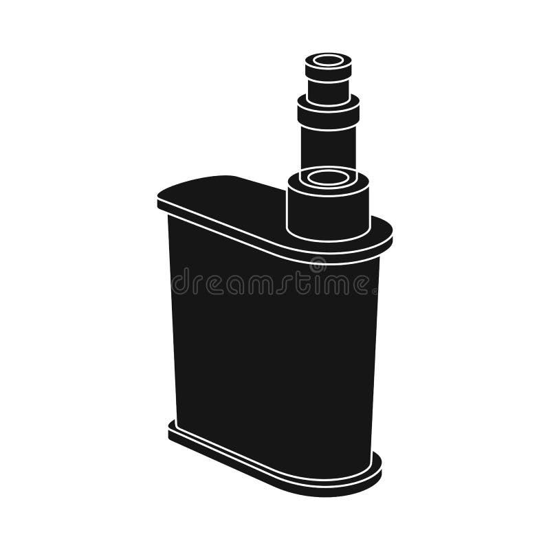 Διανυσματικό σχέδιο του τσιγάρου και του ηλεκτρονικού λογότυπου Σύνολο τσιγάρου και μίμησης διανυσματικής απεικόνισης αποθεμάτων ελεύθερη απεικόνιση δικαιώματος
