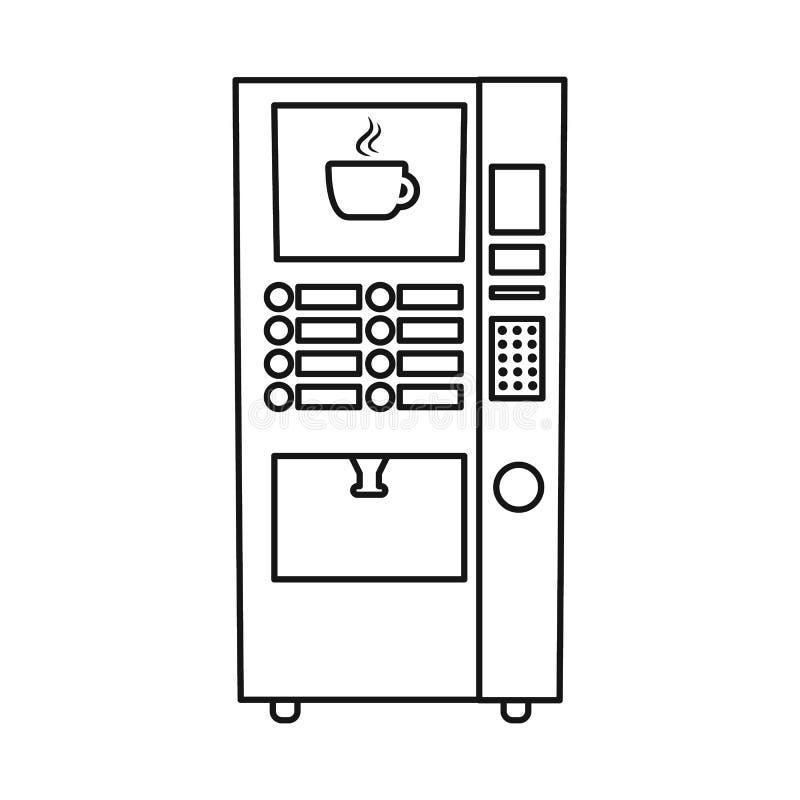Διανυσματικό σχέδιο automat και του λογότυπου πώλησης Συλλογή automat και του πωλώντας διανυσματικού εικονιδίου για το απόθεμα απεικόνιση αποθεμάτων