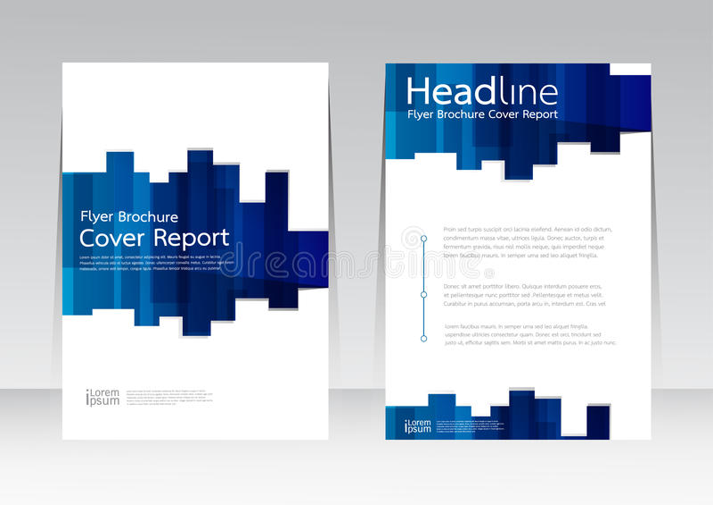 Διανυσματικό σχέδιο για την ετήσια αφίσα ιπτάμενων εκθέσεων κάλυψης A4 στο μέγεθος διανυσματική απεικόνιση