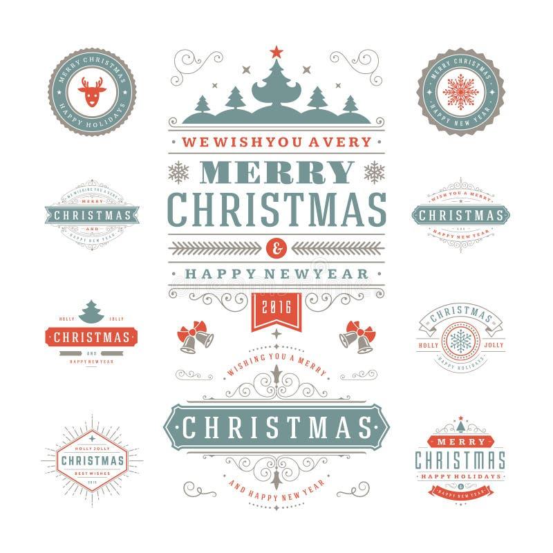 Download Διανυσματικό σχέδιο ετικετών και διακριτικών Χριστουγέννων Διανυσματική απεικόνιση - εικονογραφία από δώρο, arroyos: 62723949