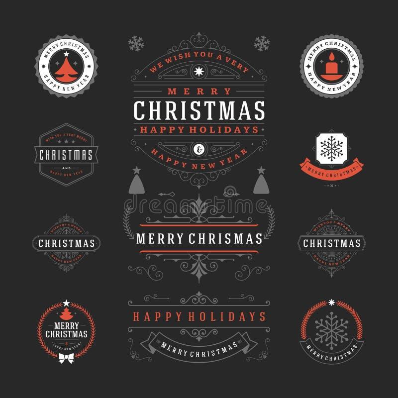 Download Διανυσματικό σχέδιο ετικετών και διακριτικών Χριστουγέννων Διανυσματική απεικόνιση - εικονογραφία από μήνυμα, ετικέτα: 62723953