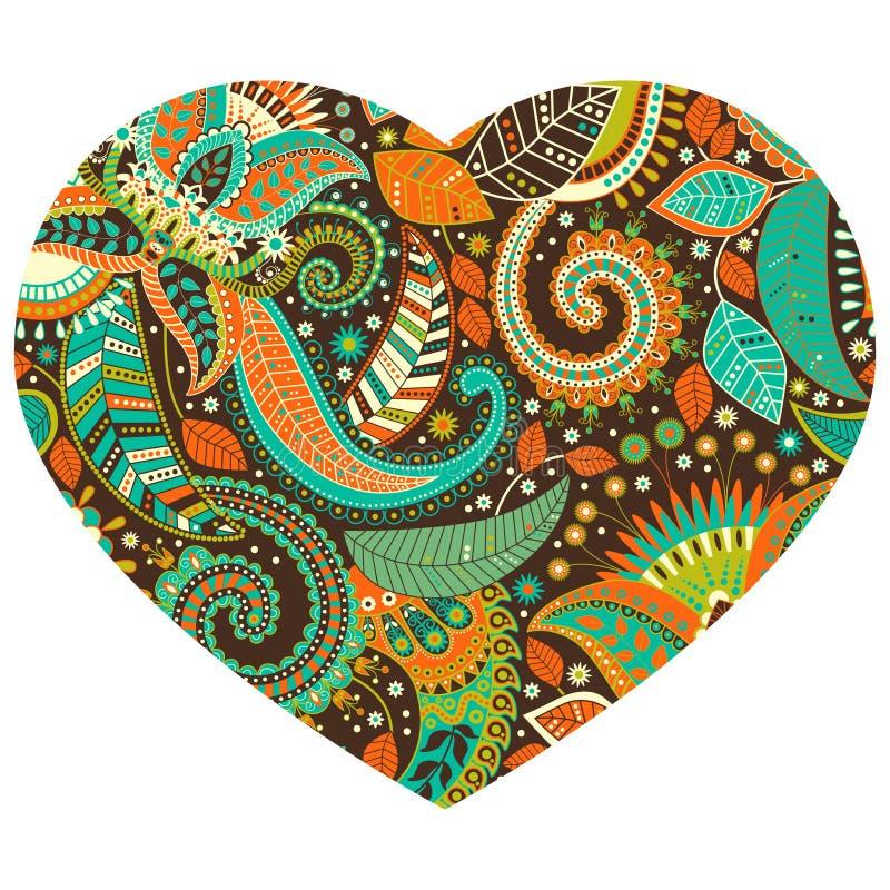 Διανυσματικό σχέδιο μορφής καρδιών διανυσματική απεικόνιση