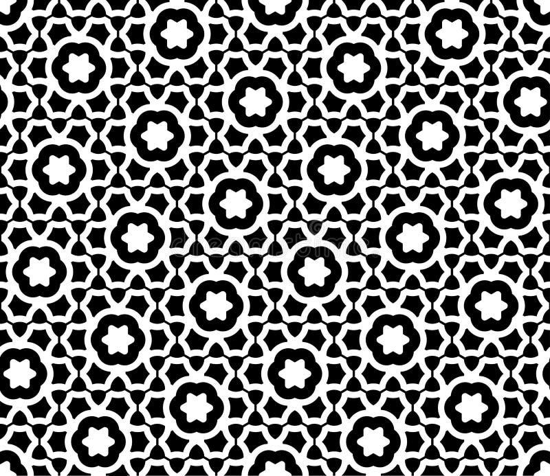 Διανυσματικό σύγχρονο άνευ ραφής άτομο σχεδίων γεωμετρίας απεικόνιση αποθεμάτων