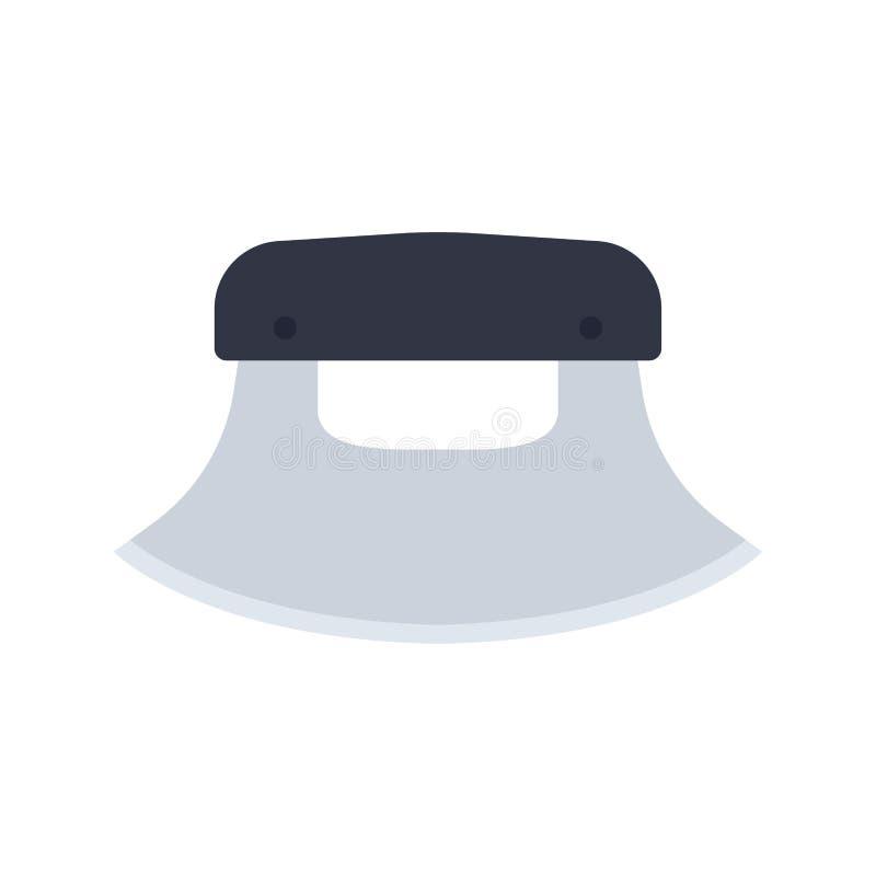 Διανυσματικό σύμβολο εικονιδίων όπλων μετάλλων μαχαιριών κυνηγιού Στρατιωτικός εξοπλισμός σκιαγραφιών ακρών λεπίδων κινηματογραφή απεικόνιση αποθεμάτων