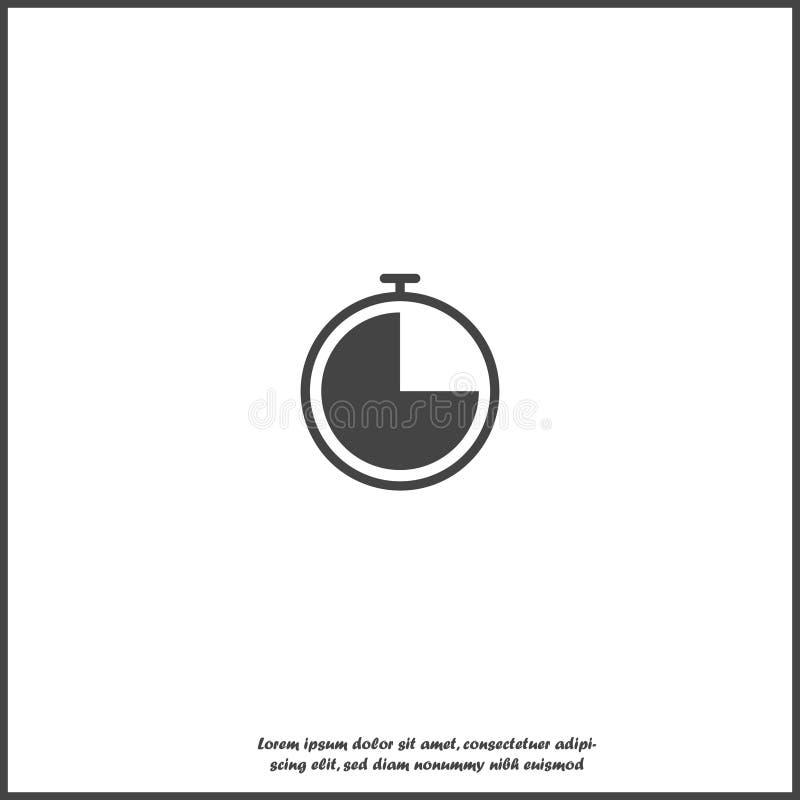 Διανυσματικό ταχύμετρο εικονιδίων Επίπεδο εικονίδιο ταχυμέτρων εικόνας Στρώματα που ομαδοποιούνται για την εύκολη απεικόνιση έκδο διανυσματική απεικόνιση