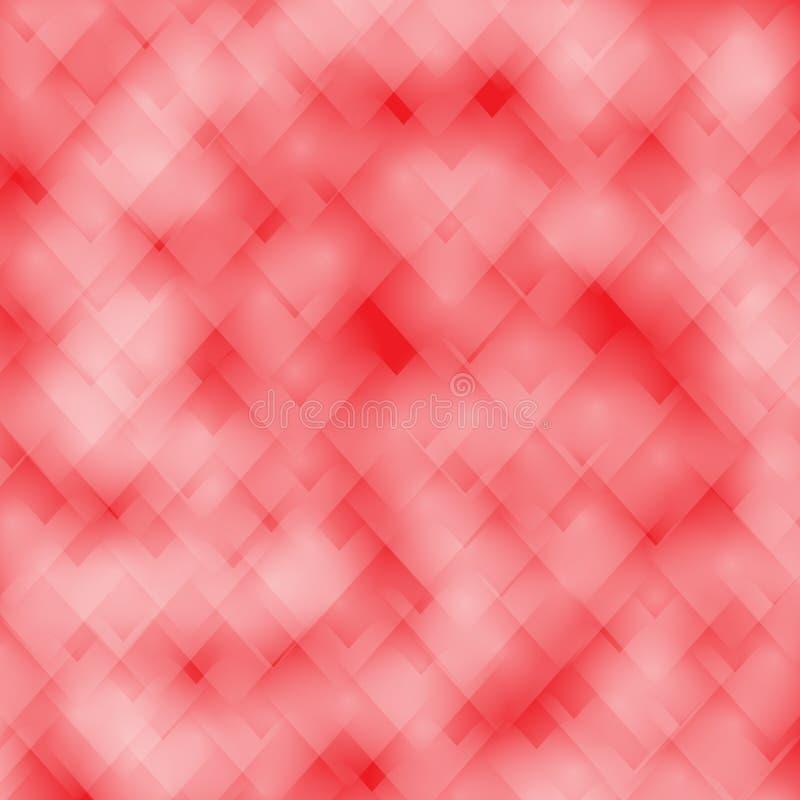Διανυσματικό υπόβαθρο βαλεντίνων αγάπης καρδιών bokeh στοκ φωτογραφία με δικαίωμα ελεύθερης χρήσης