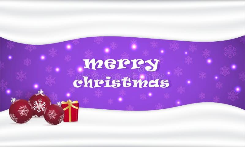 Διανυσματικό υπόβαθρο του φεστιβάλ Χριστουγέννων διανυσματική απεικόνιση