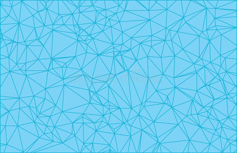 Διανυσματικό υπόβαθρο τριγώνων πολυγώνων αφηρημένο σύγχρονο Polygonal γεωμετρικό διανυσματική απεικόνιση
