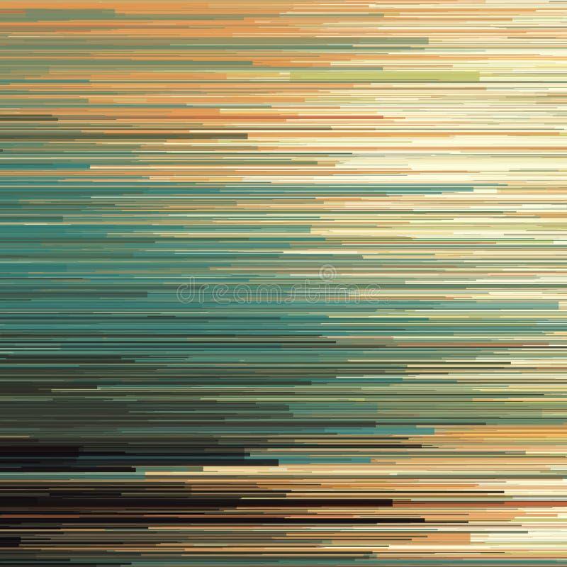 Διανυσματικό υπόβαθρο δυσλειτουργίας Ψηφιακή διαστρέβλωση στοιχείων εικόνας Ζωηρόχρωμο αφηρημένο υπόβαθρο για τα σχέδιά σας Γ διανυσματική απεικόνιση