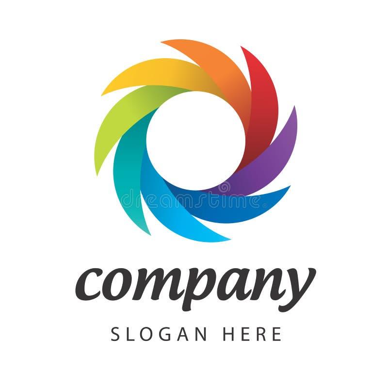 Διανυσματικό φασματικό κατασκευαστικό εταιρεία σημαδιών απεικόνιση αποθεμάτων
