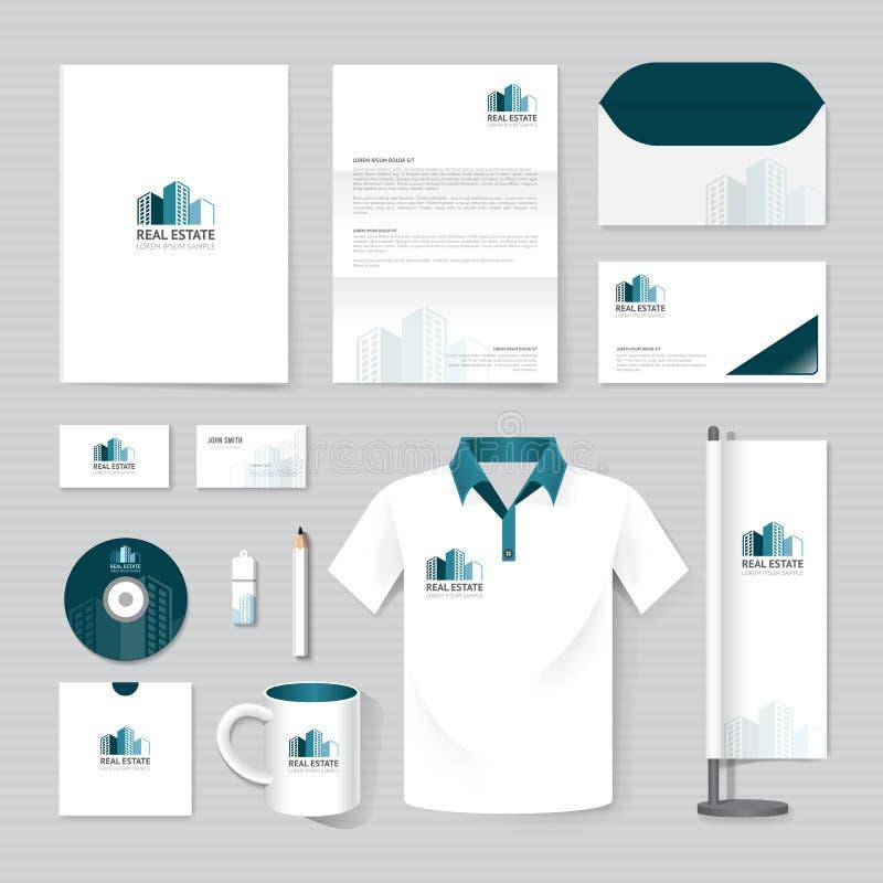 Διανυσματικό φυλλάδιο, ιπτάμενο, περιοδικό, φάκελλος, μπλούζα, χλεύη αφισών βιβλιάριων κάλυψης επάνω διανυσματική απεικόνιση