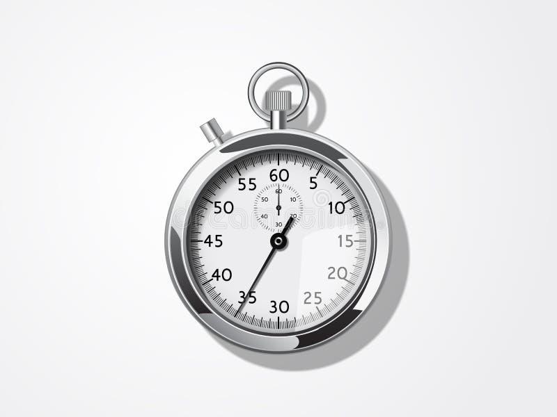 Διανυσματικό χρονόμετρο με διακόπτη διανυσματική απεικόνιση