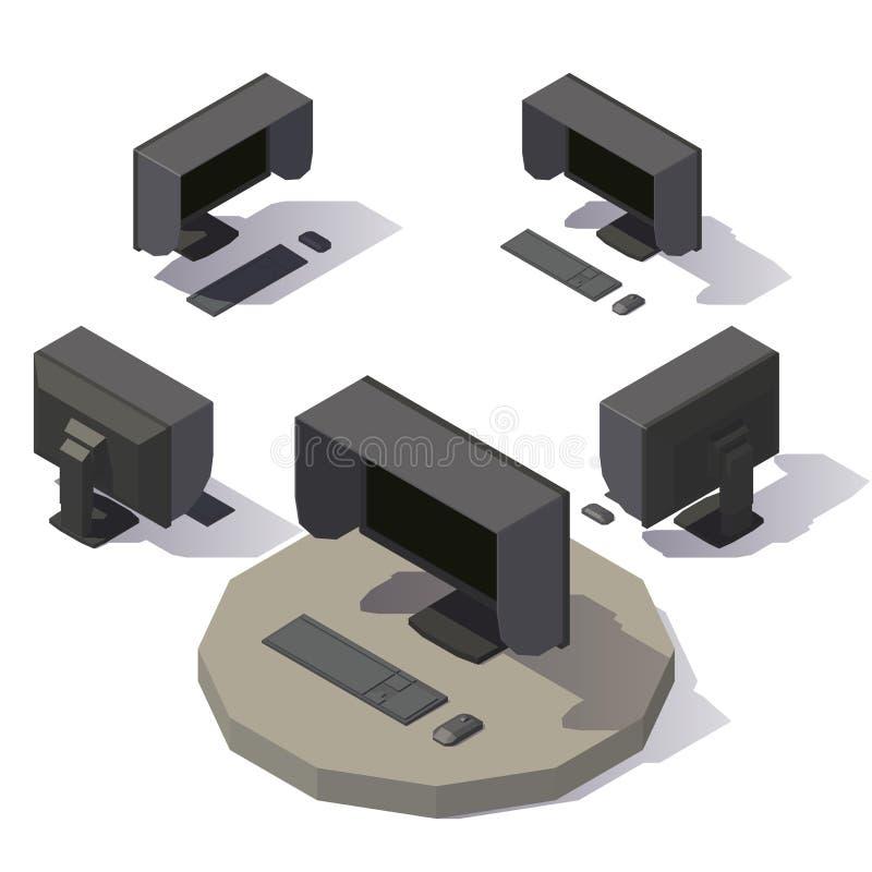 Διανυσματικό όργανο ελέγχου που σκιάζει την κουκούλα ελεύθερη απεικόνιση δικαιώματος