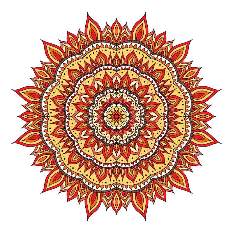Διανυσματικό mandala diwali ελεύθερη απεικόνιση δικαιώματος