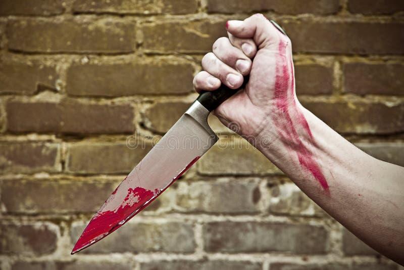 Διαπερνώντας μαχαίρι στοκ φωτογραφία με δικαίωμα ελεύθερης χρήσης